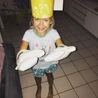 Mimi est prête à cuisiner