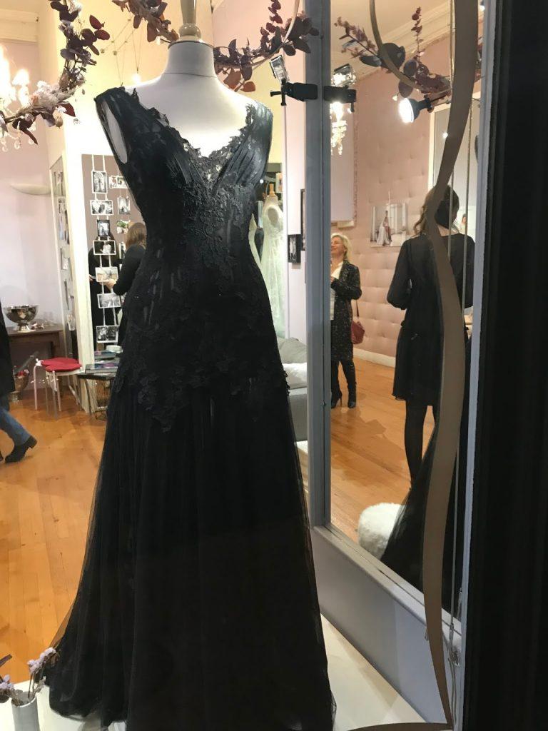 La magnifique robe noire