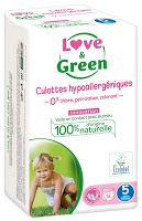 Couche love and green