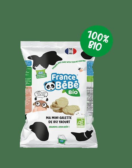Mini galette de riz yaourt