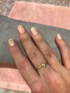 Manucure main droite