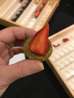Douceur à la fraise