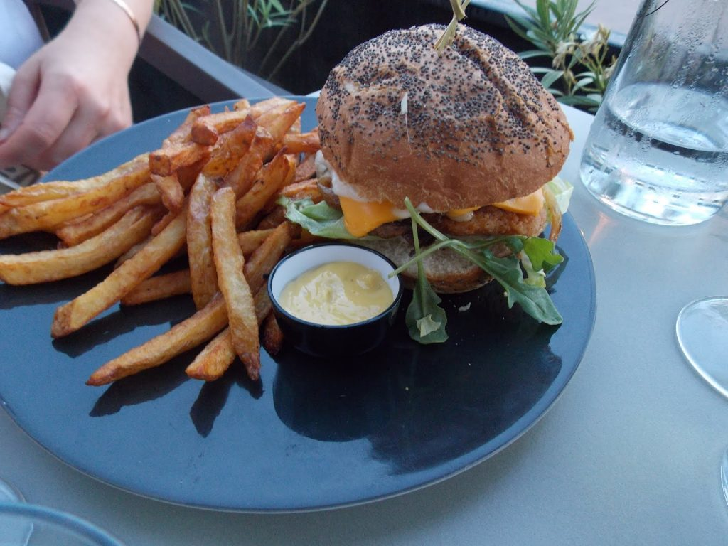 Le burger de Claire