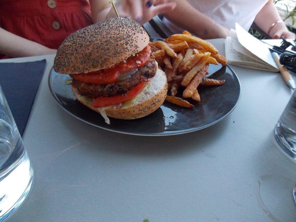 Le burger de Théodora