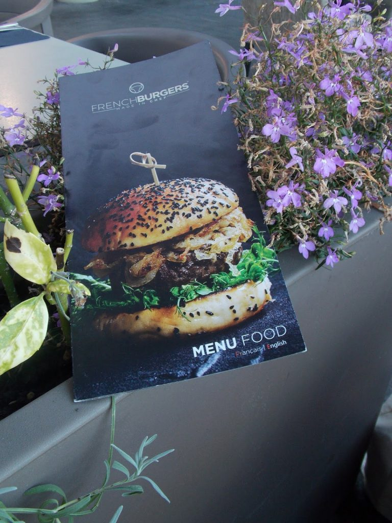 La carte du French Burger
