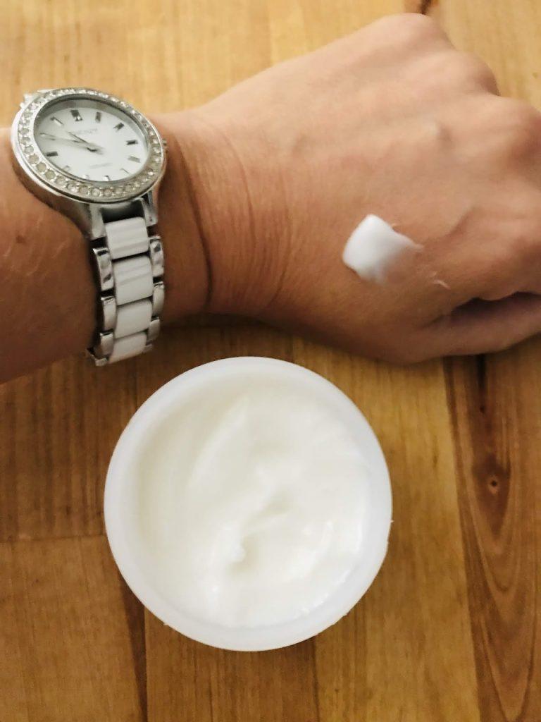 Texture de la crème
