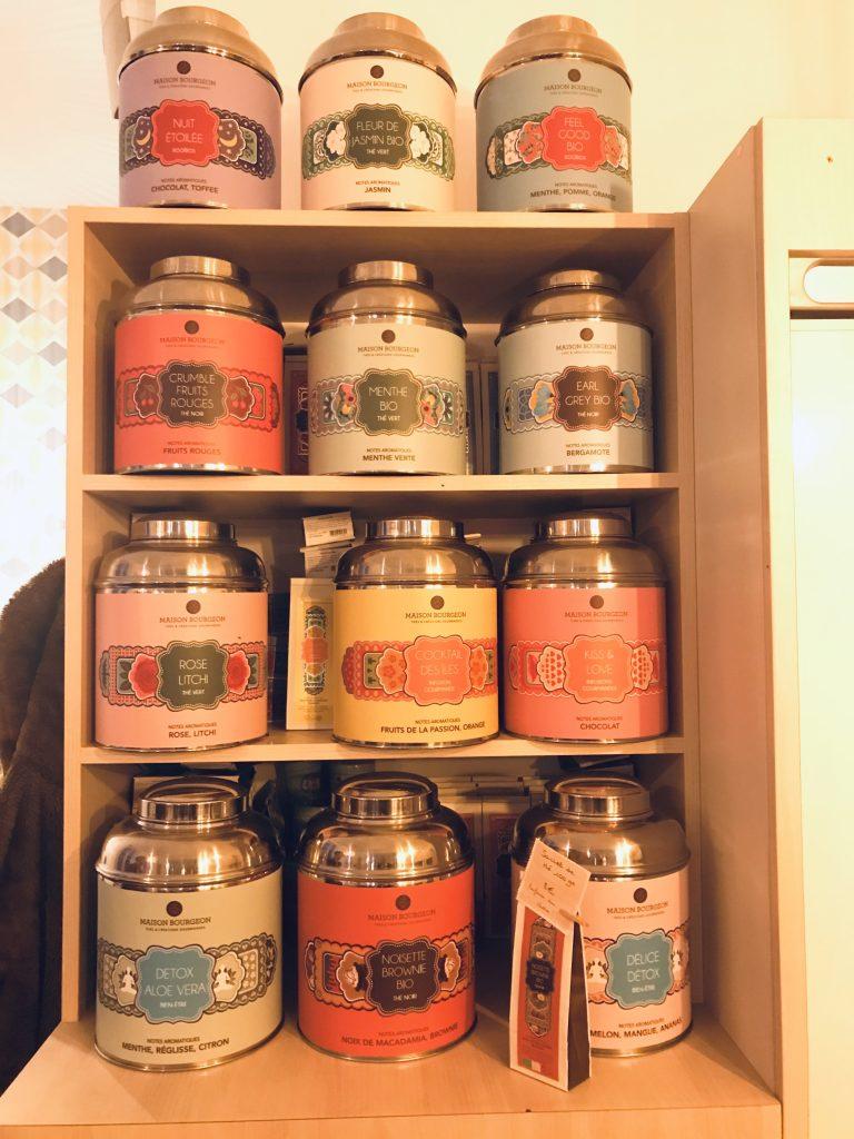 Les thés et tisanes de la Maison Bourgeon proposés par la douce parenthèse.