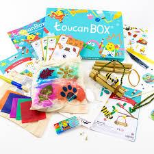 La toucanBox, une box complète avec tout le matériel pour réaliser des activités manuelles.