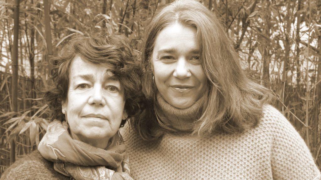 Jennifer Lavallé et Claude Biche : 2 générations qui ont écrit le livre un trou dans la page.