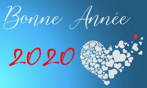 Bonne et heureuse année 2020.