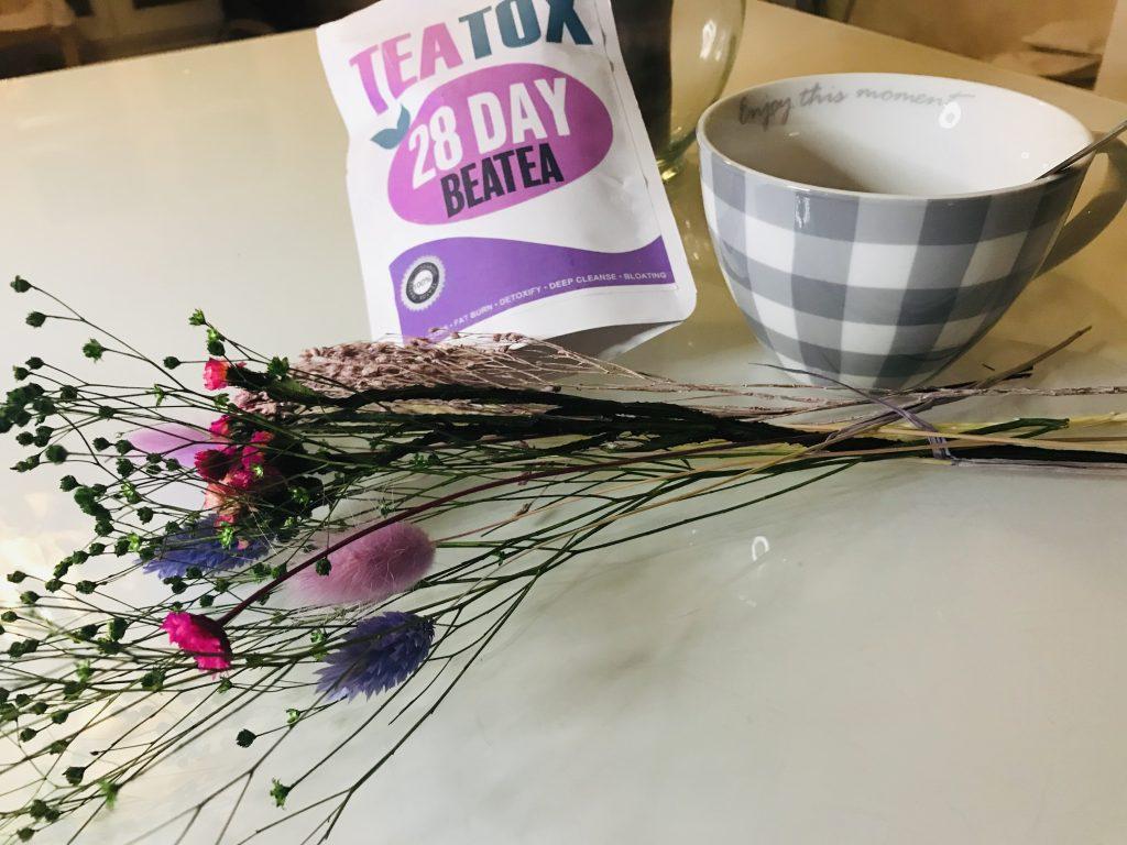 Le thé cure détox Teatox de Beatea.