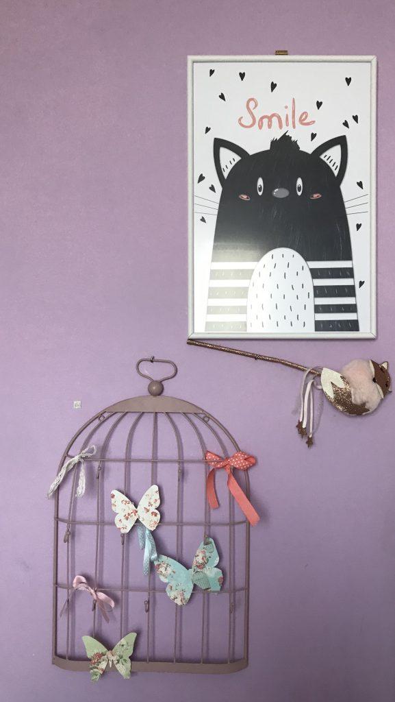 L'affiche chat et smile de Mimi.