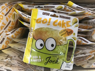 Mug cake au citron.