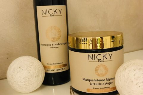 Gamme Argan Nicky Cosmetics Paris