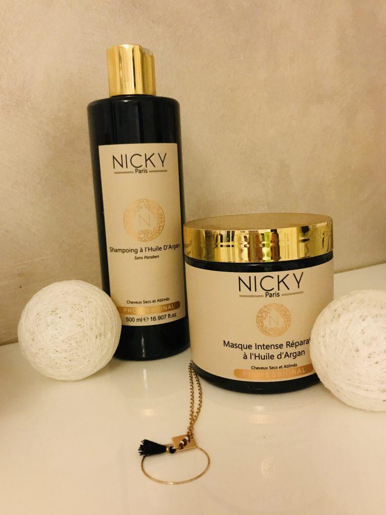 La gamme Argan de Nicky Cosmetics Paris