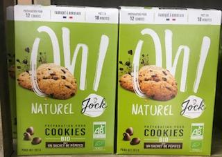 Préparation pour cookies bio.