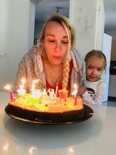 Gâteau d'anniversaire de confinement
