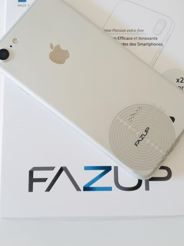 Patch Fazup sur téléphone