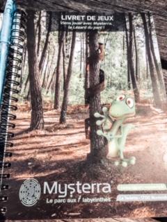 Livret de jeux Mysterra.