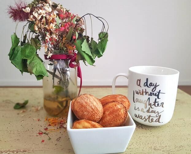Goûter simples et rapides : les madeleines.